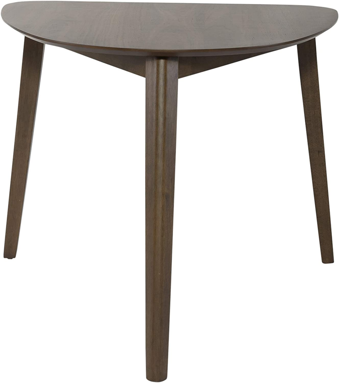 Liberty Furniture INDUSTRIES Space Savers Triangle Table, Brown