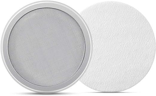 Soulhand - Filtro reutilizable premium y filtro de papel de 50 piezas para cafetera con goteo de hielo: Amazon.es: Hogar