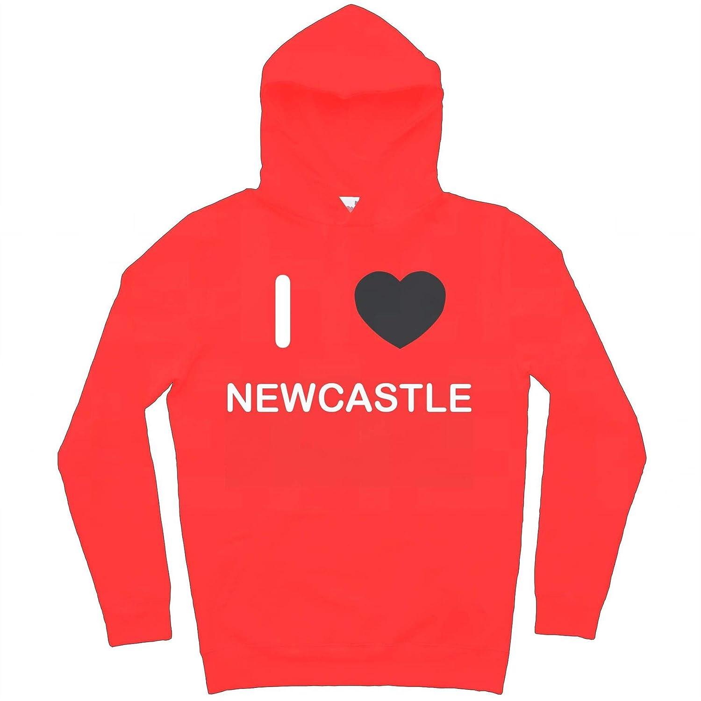 I Love Newcastle Hoodie
