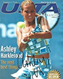 ASHLEY HARKLEROAD (TENNIS PLAYER) Received a Career-High Ranking in Singles of No. 39 on June 9, 2003 - Signed USTA MAGAZINE
