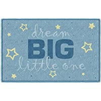 Brumlow Mills LW10222-30x46 Dream Big Blue Baby Boy Nursery Rug, 26 x310