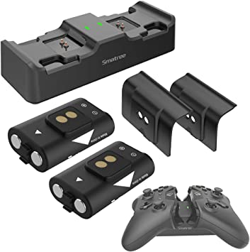Smatree - Pilas Recargables para Xbox One/Xbox One X/Xbox One S ...