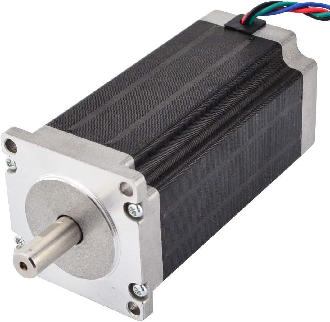 Stepperonline NEMA 23/Moteur pas /à pas 3/Nm 4,2/A 4-wires 10/mm Tige CNC Moulin /à Tour /à Plasma Router