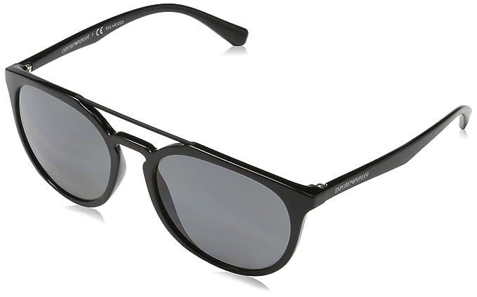 Emporio Armani 0EA4103 Gafas de sol, Black, 56 Unisex-Adulto ...