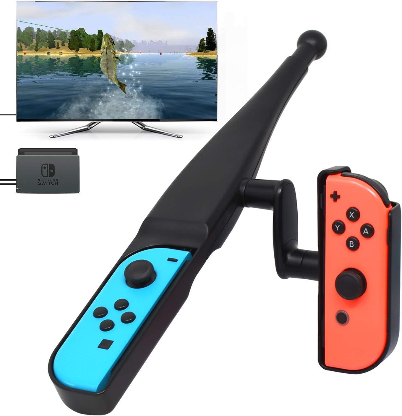 Fyoung caña de pescar para Nintendo Switch Joy-Con New Game, kit ...