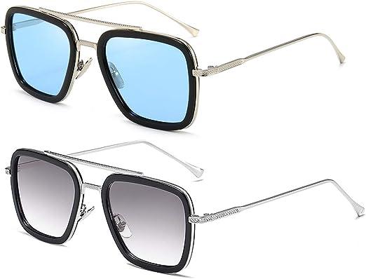 New Retro Vintage Metal Details Oversized Womens Designer Sunglasses