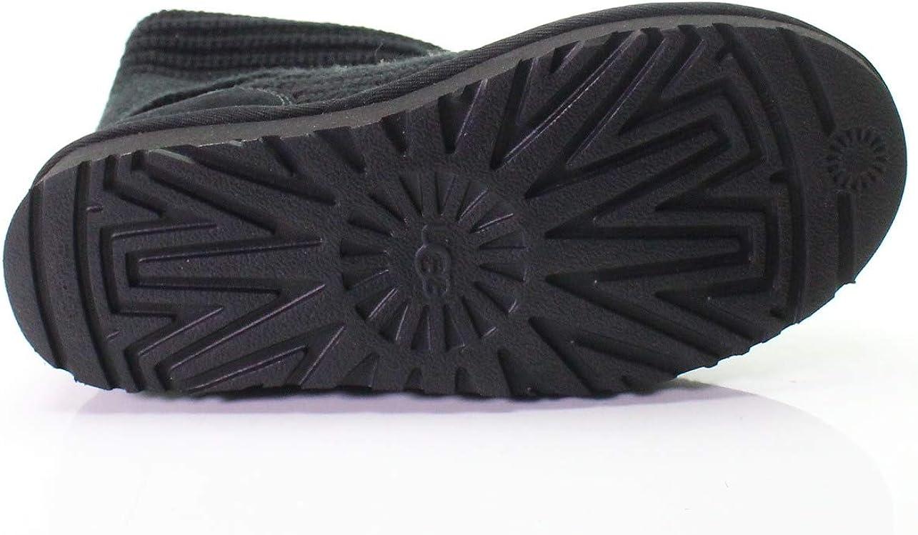 Ugg Australia Womens Classic Cardy Wool Boots Black AAOff3ZS