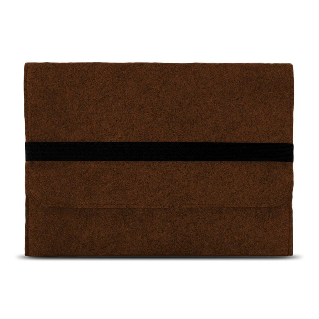 NAUC Notebook Tasche kompatibel f/ür Lenovo Yoga 520 14 Zoll H/ülle Filz Sleeve Case Schutzh/ülle Cover Farben:Braun