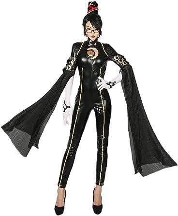 Nexthops Bayonetta Disfraz para Mujeres Cosplay de Videojuego Mono ...