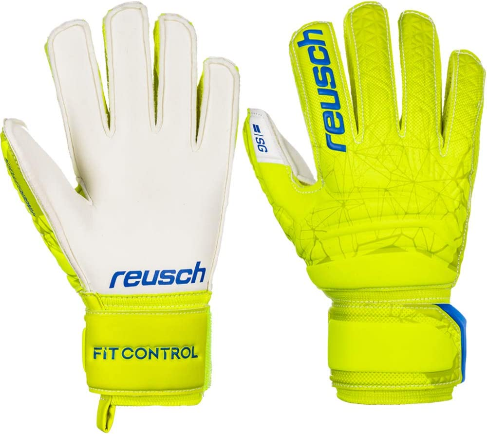 Reusch Kinder Fit Control Sg Finger Support Junior Torwarthandschuh