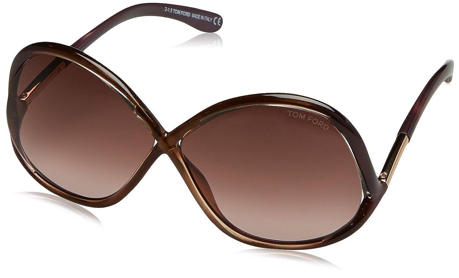 Tom Ford - Lunettes de soleil - Homme Marron marron 64  Amazon.fr   Vêtements et accessoires 4e116cd81e7f