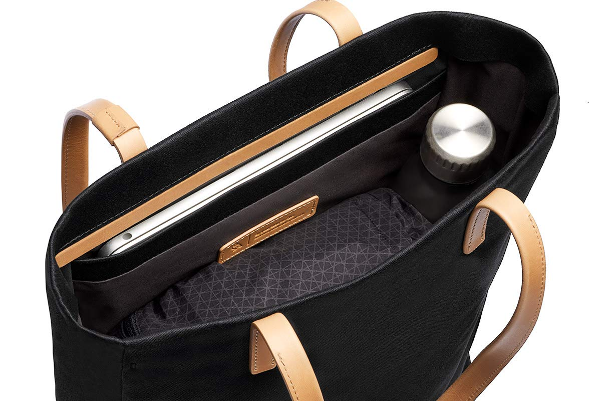 Bellroy Melbourne Tote (13 liters, 13'' Laptop, Personal Items) - Black by Bellroy (Image #4)