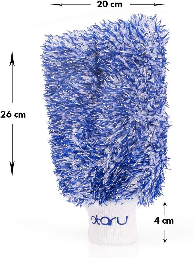 Felgenhandschuh Auto Felgen Lack Handschuh Waschhandschuh Mikrofaser Detailing