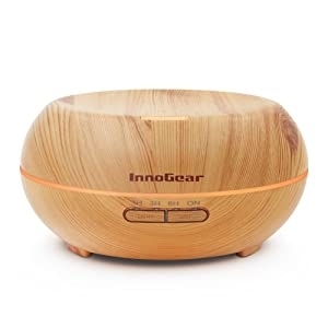 InnoGear Aromatherapy Wood Grain Diffuser