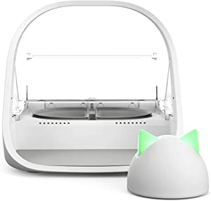 Sure Petcare - SureFeed Microchip Pet Feeder Connect with Hub - WiFi Link and App Controlled, White (4 x C Batteries Required)