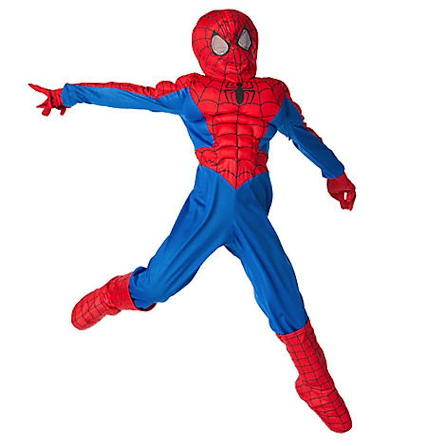 Amazon.com Disney Store Spider-man Costume for Boys Amazing Spiderman (L 10-12 Large) Clothing  sc 1 st  Amazon.com & Amazon.com: Disney Store Spider-man Costume for Boys Amazing ...