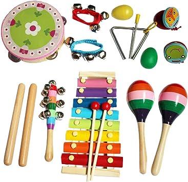 Holz Rassel Musik Rhythmus Spielzeug