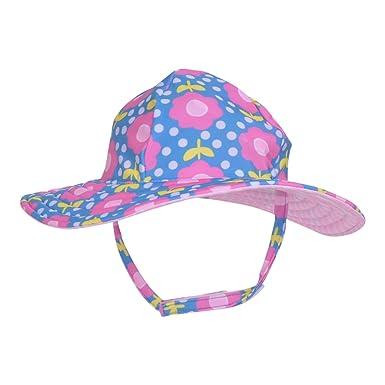 4cc2aac0f1a Amazon.com: Flap Happy Girls' Toddler UPF 50+ Summer Splash Swim Hat:  Clothing