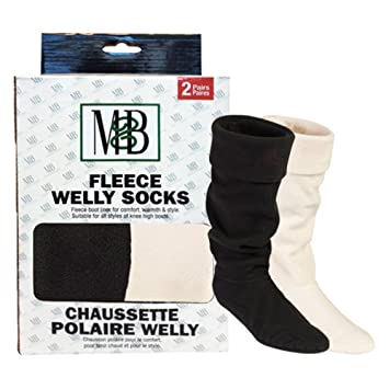e527d8f6f9f Moneysworth and Best Fleece Welly Socks Two Pack