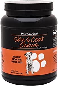 Youngevity FTO Skin Coat Chews for Dogs (1 kg Jar)