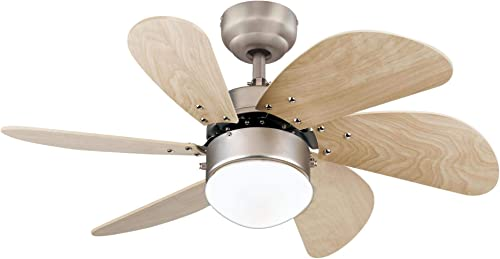 Westinghouse Lighting 7224000 Turbo Swirl Indoor Ceiling Fan