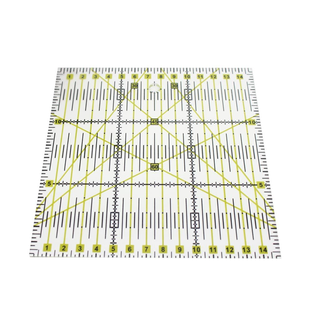 Quilting Ruler, Starall Acrylic Square Junior Acrylic Template Patchwork Rulers Arts Craft Sewing Tools