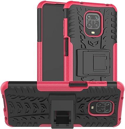 Custodia per Xiaomi Mi Note 10 e Note 10 Pro Hybrid Armour TPU PC Cover robusta