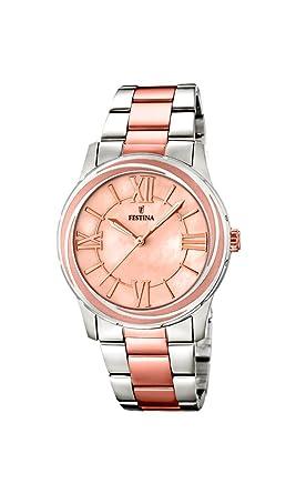 Festina F16723/2 - Reloj de Cuarzo para Mujer, con Correa de Acero ...