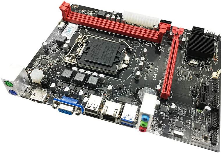 Festnight Jingsha B75 Motherboard M-ATX LGA1155 DDR3 Mainboard i5 3470 Core CPU
