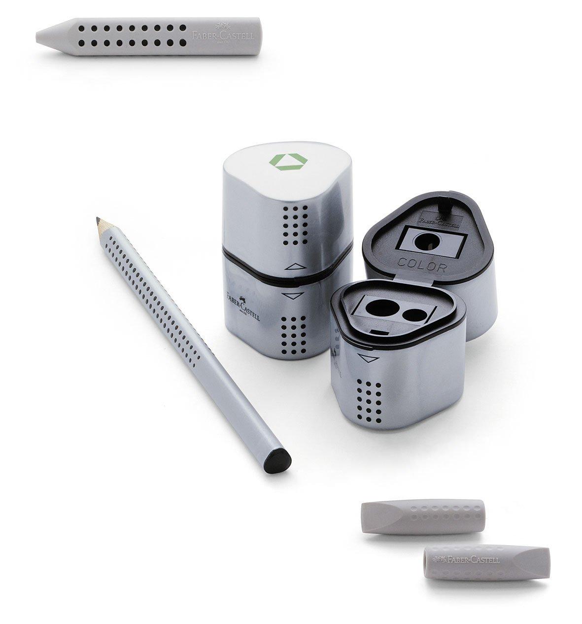 Box 24 Jumbo Grip Eraser CAPS