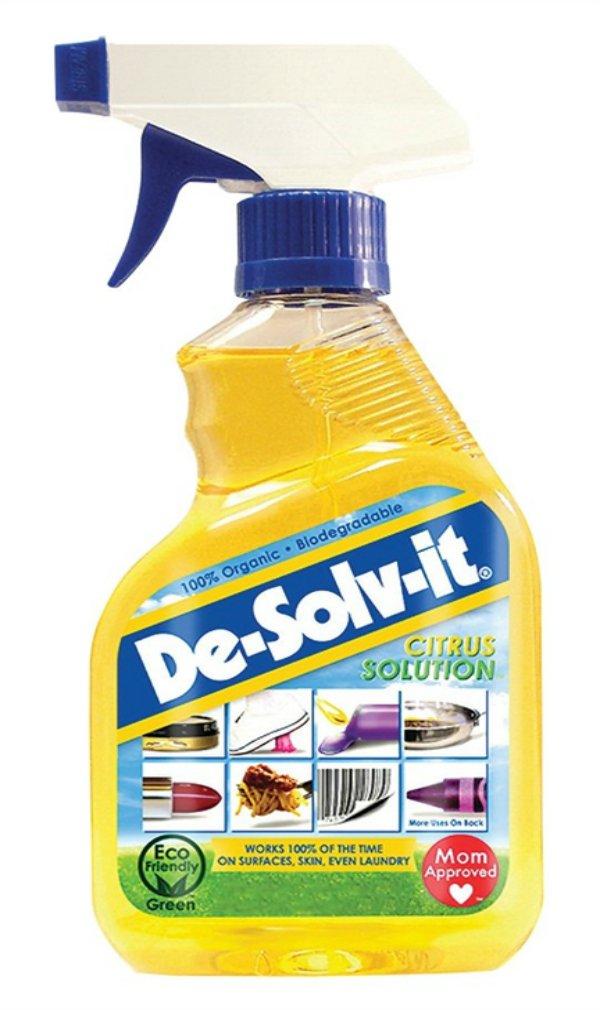 De-Solv-it! 22608 Orange Sol Citrus Solution Spray, 12 oz