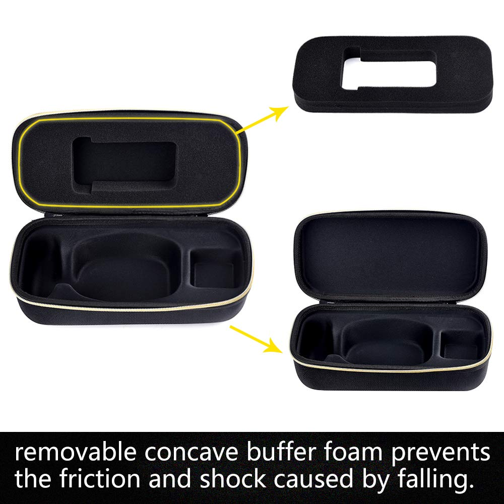 PAIYULE Hard Carrying Case Compatible for Anki Vector Robot - Fits Cube and Charger. by PAIYULE (Image #4)