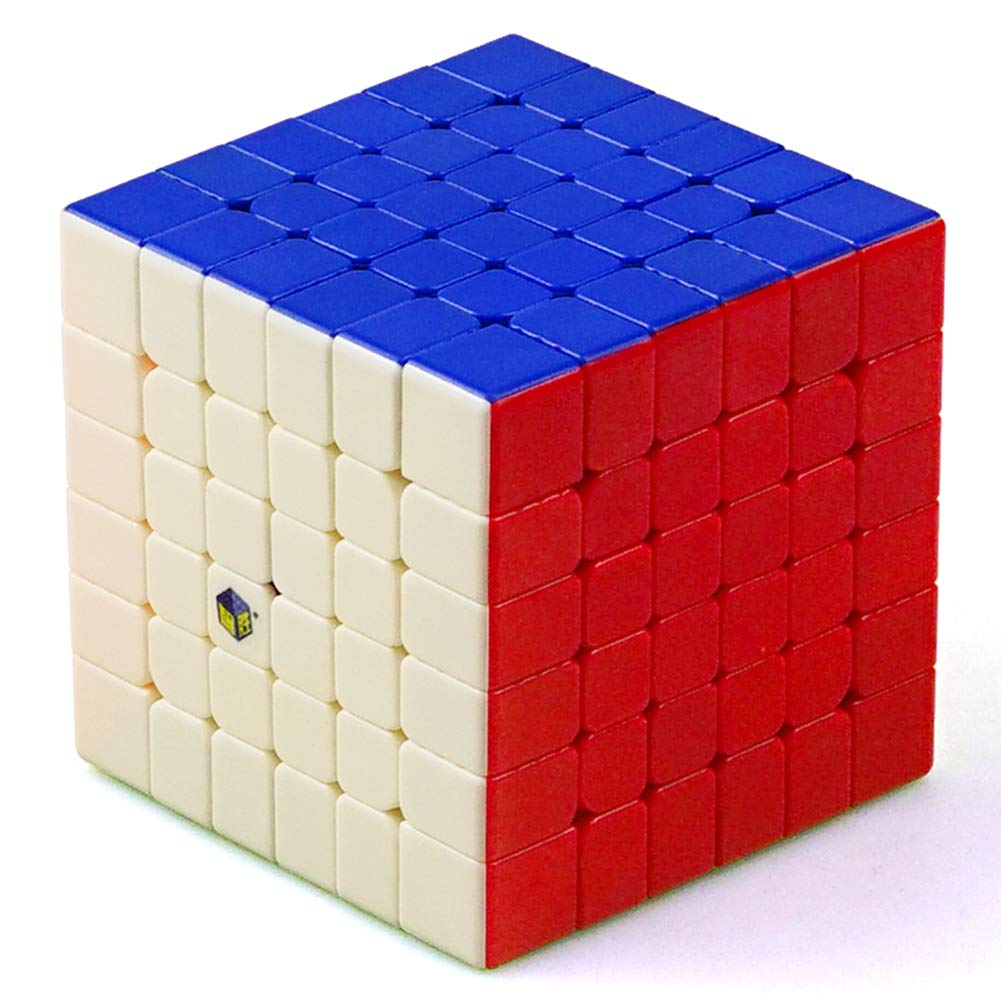 JIAAE 6X6 Professional Competition Rubik's Cube Children Puzzle Colorful Smooth Rubik