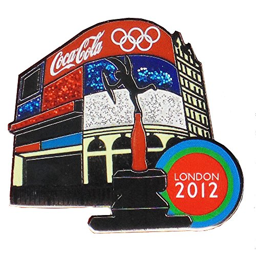 London Olympic Coca-Cola Pin - Landmark Piccadilly ()