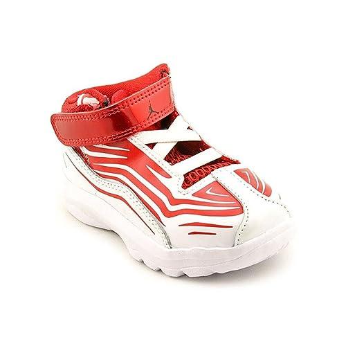half off e612c 48611 Amazon.com   Jordan Toddler Boys Aero Mania TD Sneakers 555379 Sz 8.5c Gym  Red Black-White   Sneakers