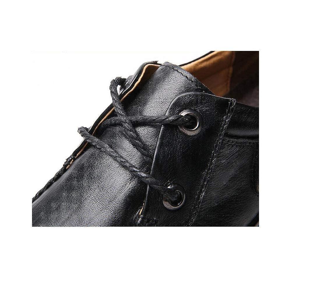 Männer Business Leder Lederschuhe Yellow Freizeitschuhe Erbsen Faule Schuhe Yellow Lederschuhe 0ec1cc