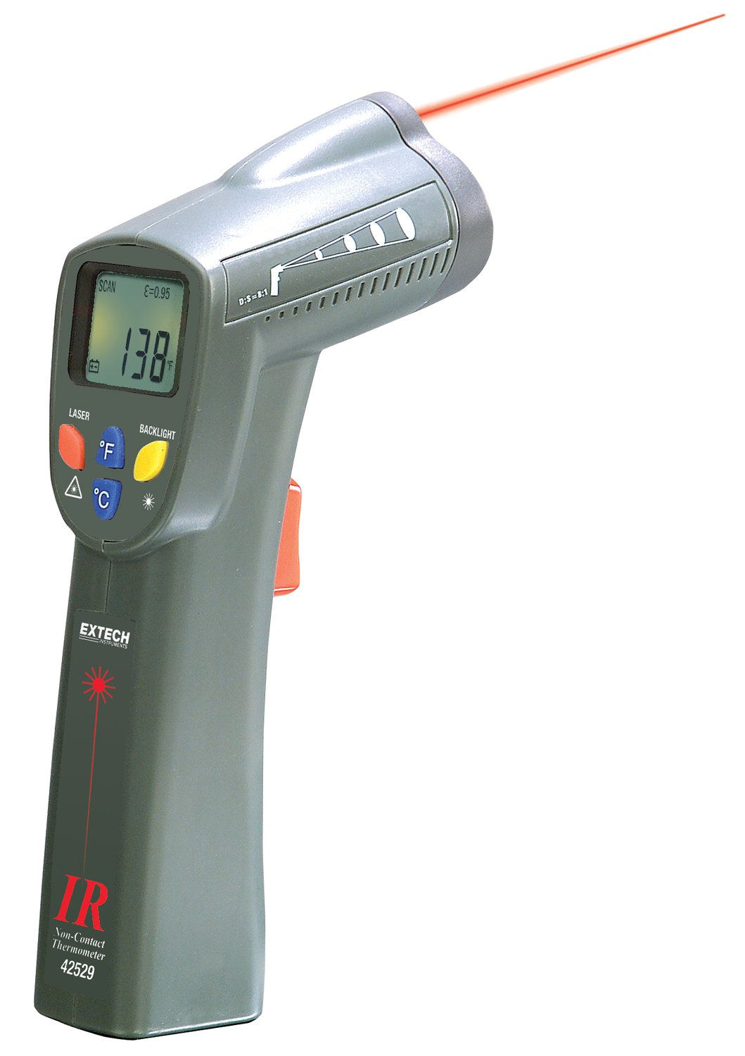 Extech 42529 Wide Range IR Thermometer