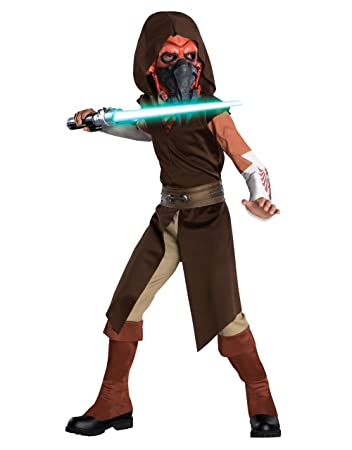 star wars costume kids clone wars plo koon outfit style 2 large age - Clone Wars Halloween Costumes