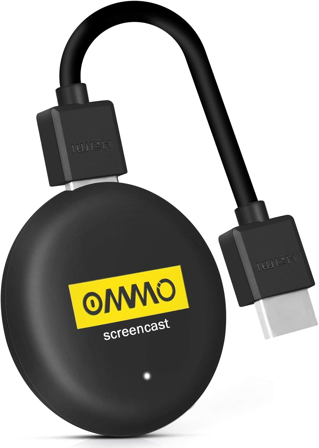 OMMO Airplay Dongle, 4K HDR Wireless HDMI Display Dongle Adapter, 5G and 2.4G WiFi Mobile Screen Mirroring Receiver, for Android/iOS/Windows/Mac to HDTV/Monitor/Projector