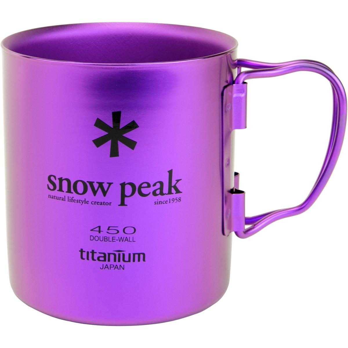 Snow Peak doppelwandige Tasse 450