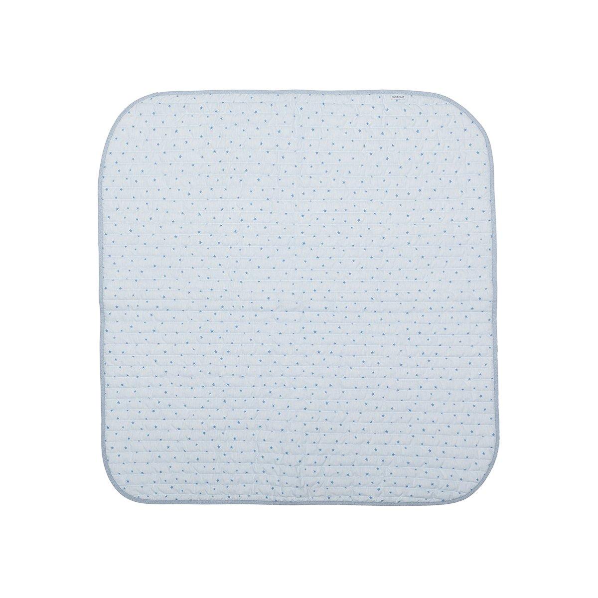 Cambrass Stela - Colcha boutí, 80 x 80 cm, color celeste 37500.0