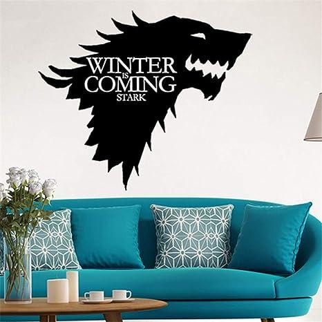 zzlfn3lv Juego de Tronos Stark Emblema de la Familia Lobo de ...