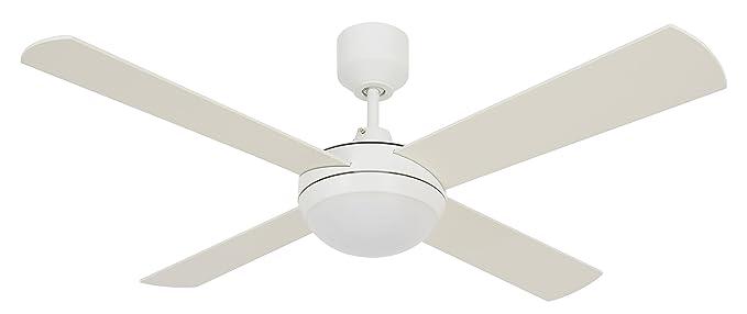 Lucci airfutura eco 4 blade fan white 60 watts amazon lucci airquotfutura ecoquot 4 blade fan aloadofball Gallery