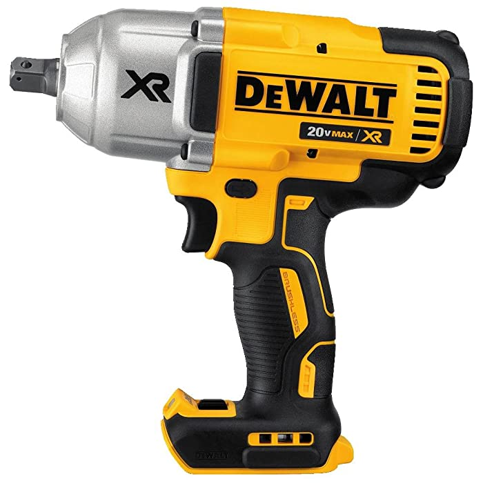 "DEWALT DCF899B20v MAX XR Brushless High Torque 1/2"" Impact Wrench with Detent Anvil (Tool Only)"
