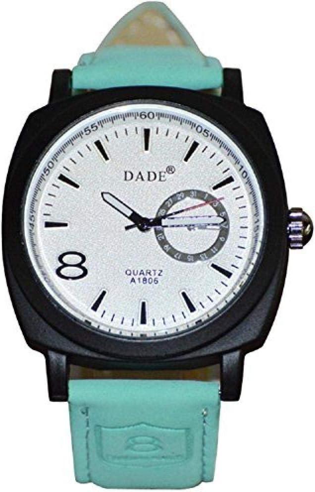 Relojes Hombre Elegantes,un Reloj de Cuarzo con Correa de Cuero de Color Caramelo para Mujeres jóvenes de Moda literaria @ 1