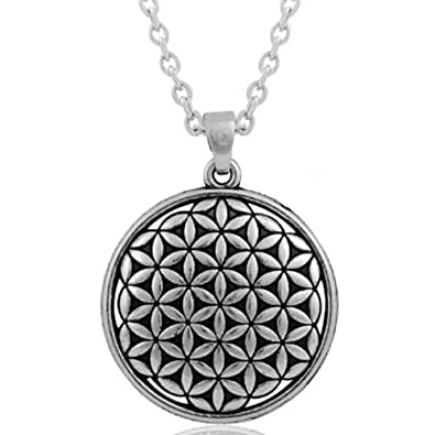 Mese london flower of life necklace silver sacred geometry pendant mese london flower of life necklace silver sacred geometry pendant elegant gift box aloadofball Gallery