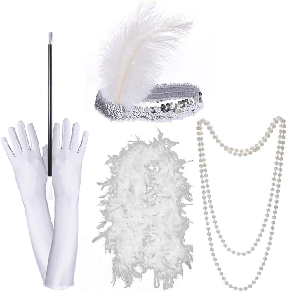 Telescópica Boquilla años 20 Fancy Dress Accesorio