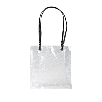 Amazon.com : Inglot Transparent Shopping Bag (R23972C) : Beauty