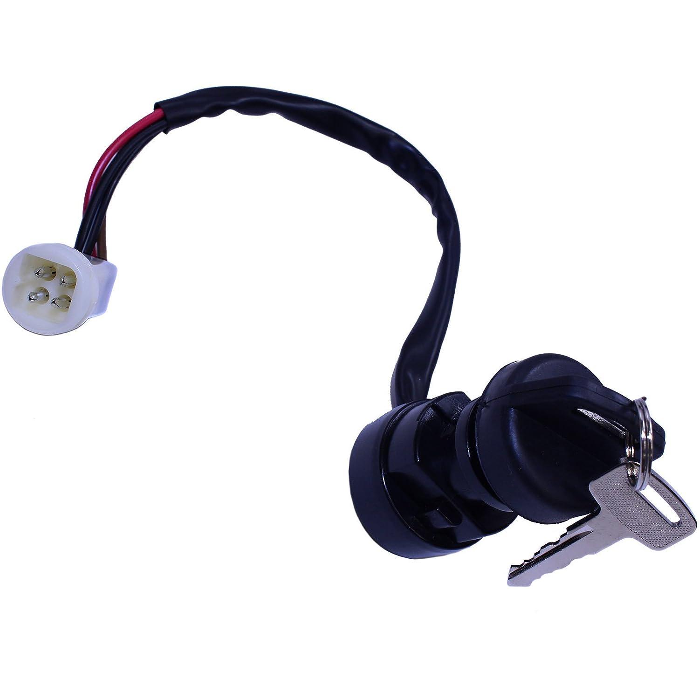 Ignition Key Switch for Yamaha Big Bear 350 YFM350 YFM 4x4 1987-1993 1994 New