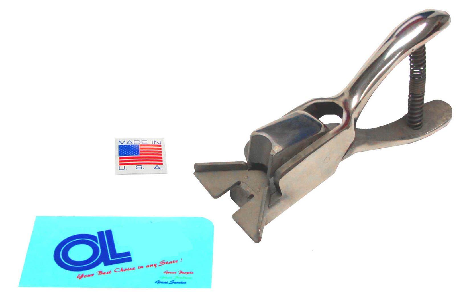 American Made 3/8 inch Radius Round Corner Punch - Heavy Duty 10mm